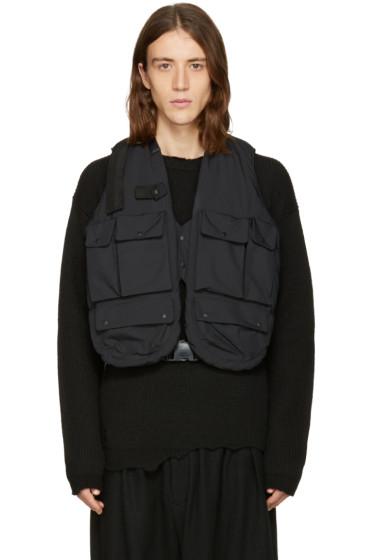Sasquatchfabrix - Black Insulation Technical Vest