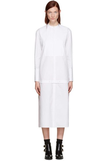 Undercover - White Long Shirt Dress