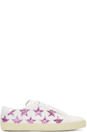 Saint Laurent - Off-White Signature Court Classic SL/06 California Sneakers