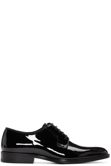 Saint Laurent - Black Patent Leather Dylan Derbys
