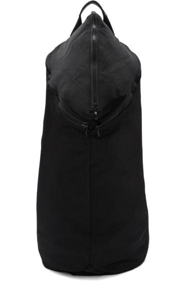 Julius - Black Nylon Backpack