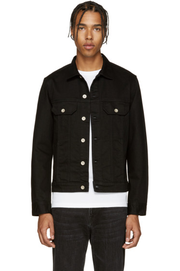 PS by Paul Smith - Black Denim Jacket