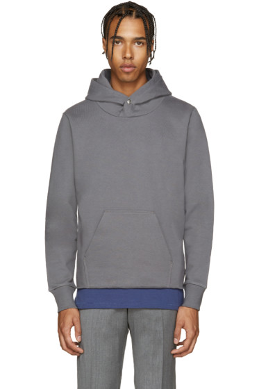 PS by Paul Smith - Grey French Terry Hoodie