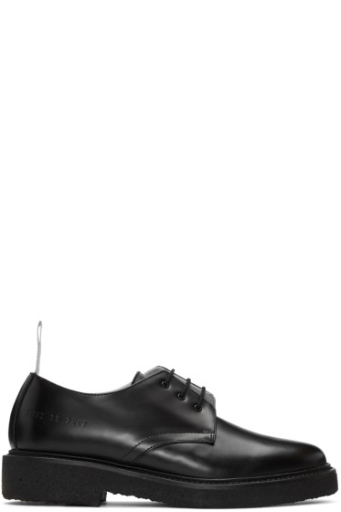 Woman by Common Projects - Black Cadet Derbys