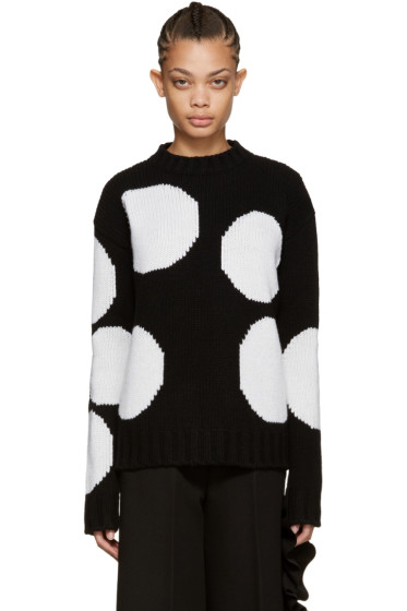MSGM - Black Polka Dot Sweater