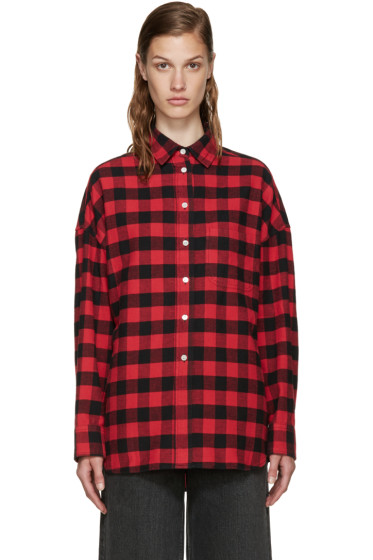 6397 - Red Flannel Buffalo Check Lori Shirt