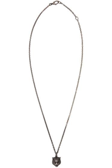 Gucci - Silver Tiger Necklace