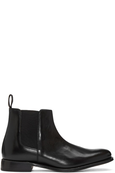 Grenson - Black Leather Declan Chelsea Boots