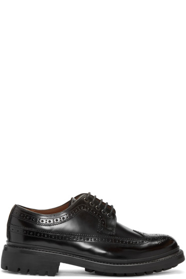 Grenson - Black Sid Brogues