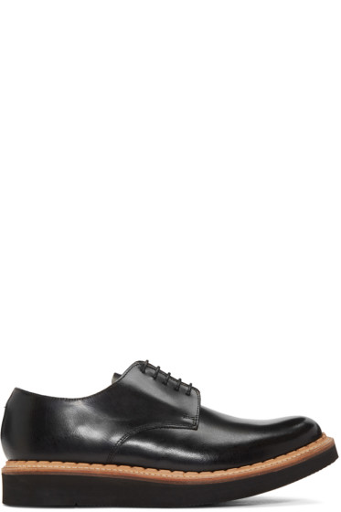 Grenson - Black Curt Derbys