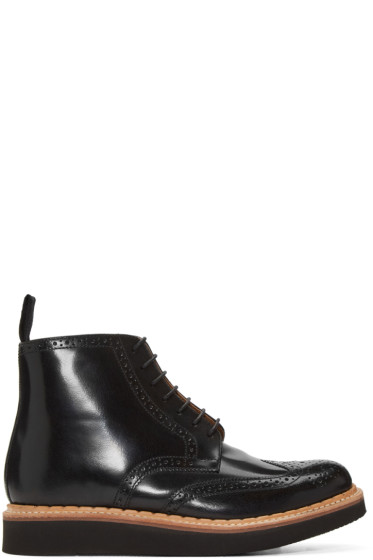 Grenson - Black Sharp Boots