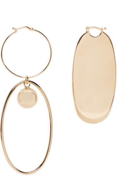 Stella McCartney - Gold Geometric Earrings