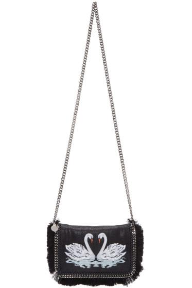 Stella McCartney - Black Swan Falabella Crossbody Bag