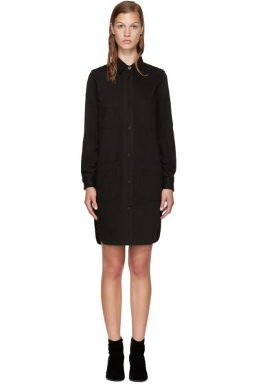 Stella McCartney - Black Denim Shirt Dress