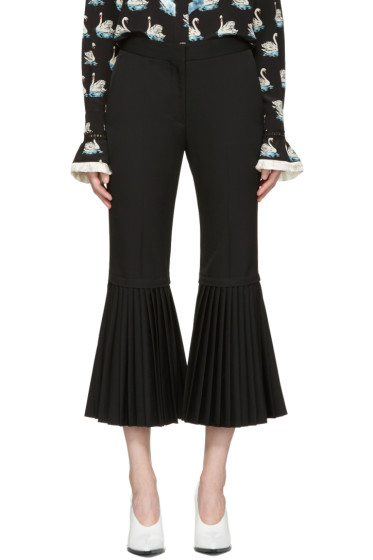 Stella McCartney - Black Chellini Trousers