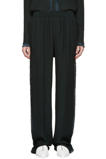 Stella McCartney - Green Fringe Trousers