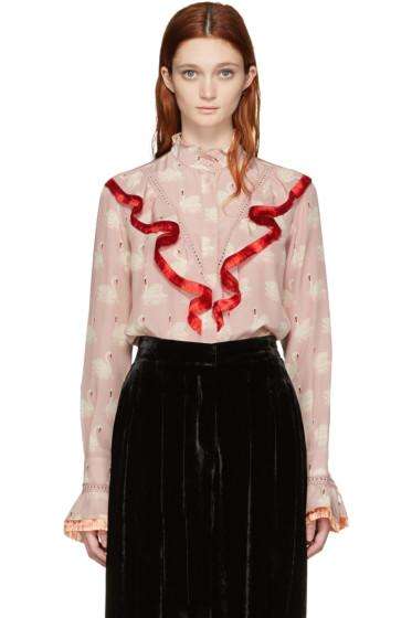 Stella McCartney - Pink Swan Shirt