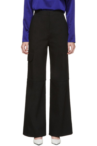 J.W.Anderson - Black Wide-Leg Trousers