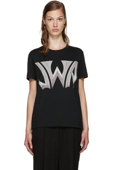J.W.Anderson - Black Logo T-Shirt