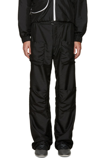 J.W.Anderson - Black Multi Pocket Trousers