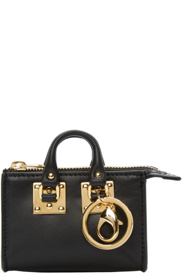 Sophie Hulme - Black Holmes Coin Pouch