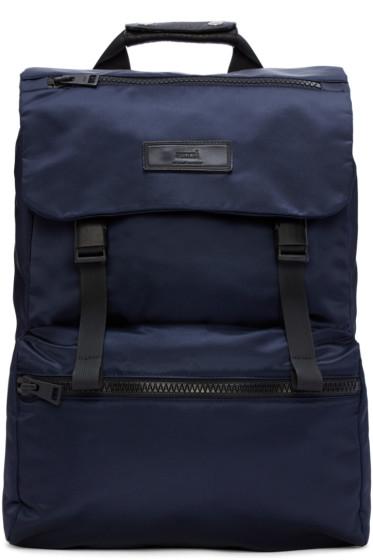AMI Alexandre Mattiussi - Blue Nylon Backpack