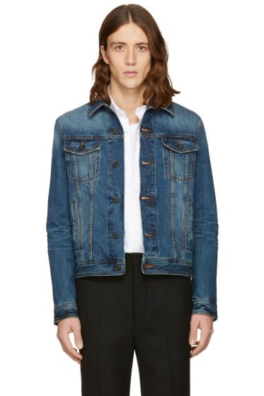 AMI Alexandre Mattiussi - Blue Denim Jacket