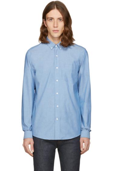 AMI Alexandre Mattiussi - Indigo Chambray Shirt