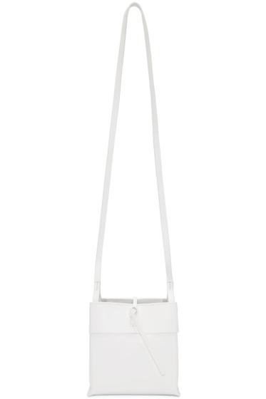 Kara - White Nano Tie Bag