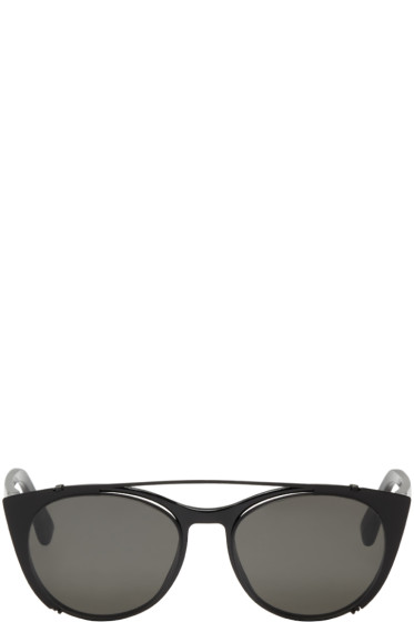 Mykita - Black Clip-On Teresa Sunglasses