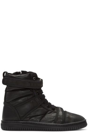 Christian Peau - Black CP MT Zip High-Top Sneakers