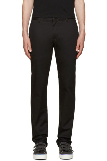 Naked & Famous Denim - Black Slim Chinos