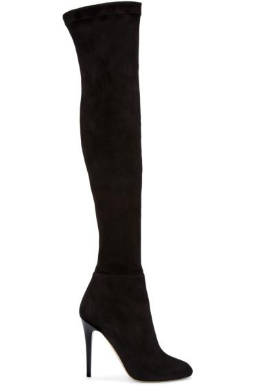 Jimmy Choo - Black Turner Tall Boots