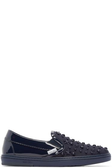 Jimmy Choo - Navy Stars Grove Sneakers