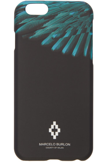 Marcelo Burlon County of Milan - Black Rigel iPhone 6 Case