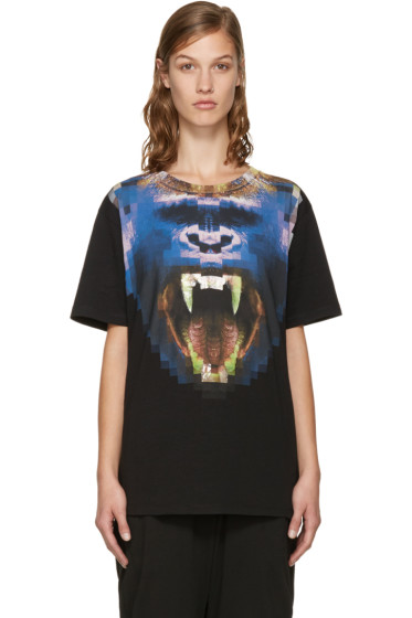 Marcelo Burlon County of Milan - Black Llullaillaco T-Shirt