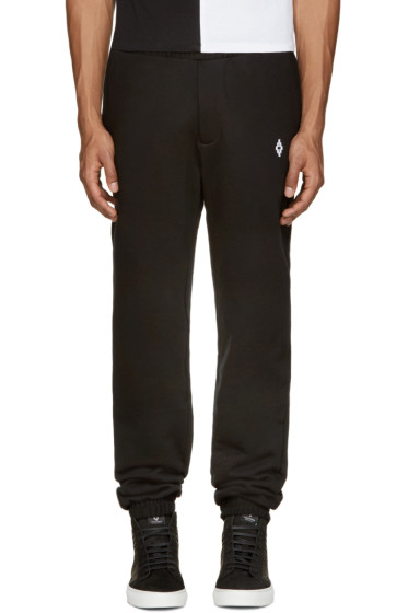 Marcelo Burlon County of Milan - Black Uturuncu Lounge Pants