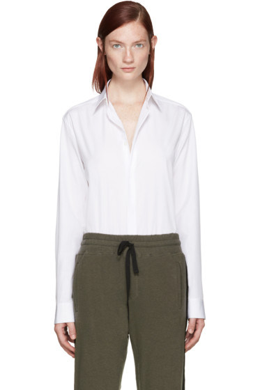 Haider Ackermann - White Poplin Shirt