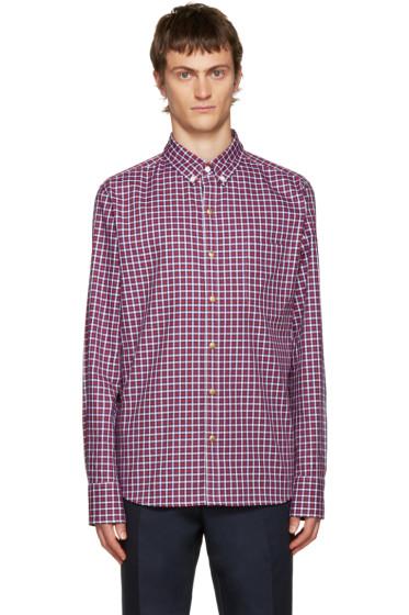 Moncler Gamme Bleu - Multicolor Check Shirt