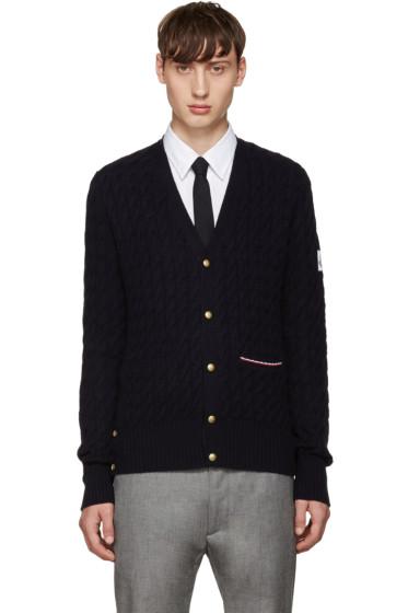 Moncler Gamme Bleu - Navy Cashmere Cardigan