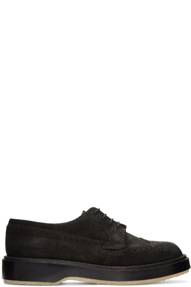 Adieu - Black Type 82C Wingtip Brogues