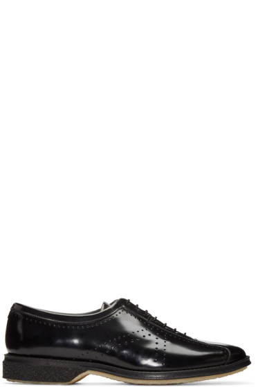 Adieu - Black Type 75 Cycling Oxfords
