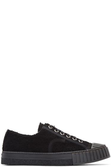 Adieu - Black Textile Type W.O. Sneakers