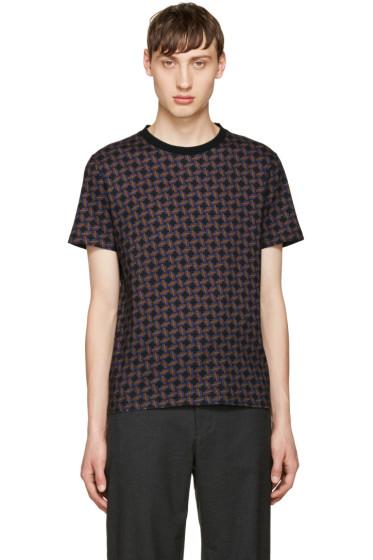 Giuliano Fujiwara - Multicolor Pattern T-Shirt
