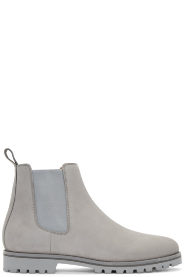 ETQ Amsterdam - Grey Chelsea Boots