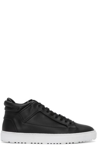 ETQ Amsterdam - Black Mid 2 Sneakers