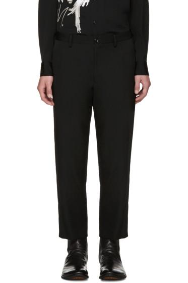 Yohji Yamamoto - Black Wool Trousers