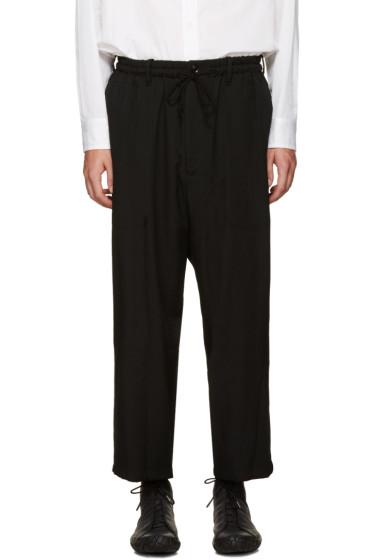 Yohji Yamamoto - Black Wide-Leg Trousers
