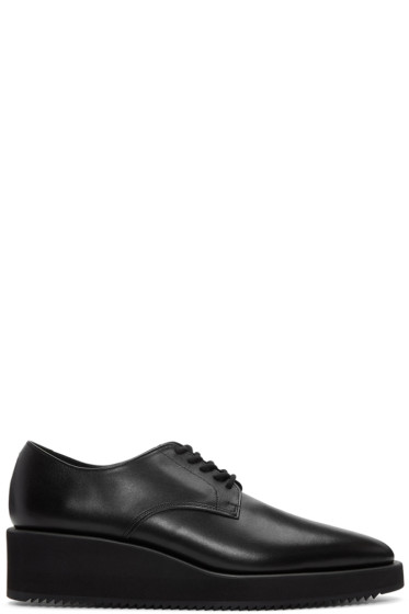 Lad Musician - Black Leather Derbys