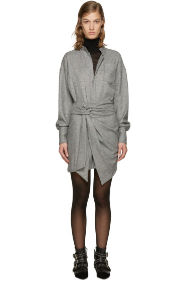 Isabel Marant - Black & Ecru Khol Dress